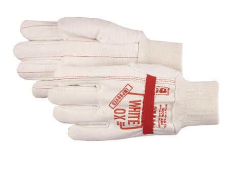 North Star White Ox Gloves with Band 1016