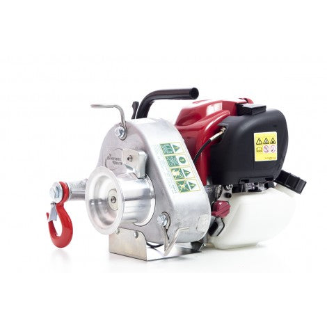 Gas Powered Portable Pulling Winch Honda GX35  PCW3000