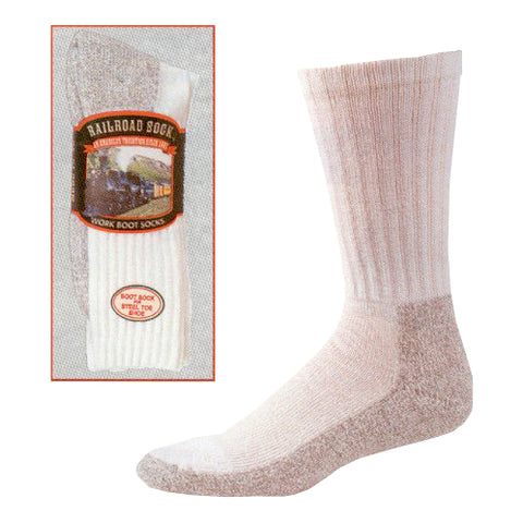 Railroad Steel Toe Boot Sock 2 Pack