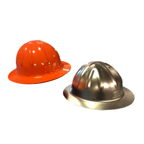 Skull Bucket Aluminum Hard Hat