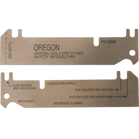 OREGON UNIVERSAL TOOL & STRETCH GAGE 404