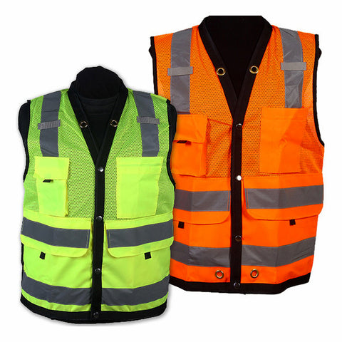 SURVEYORS SAFETY VESTS - CLASS 2