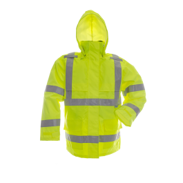 Viking Safety Green Rain Jacket