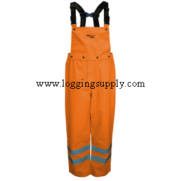 Viking Journeyman 300D Orange Rain Bibs