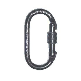 Oval Carabiner - Carbon Steel
