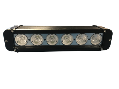 "ALT LOW PROFILE WORKLIGHT BAR, 11"" FLOOD BEAM, 4,050 LUMEN, 60 WATTS 12-24VOLT"
