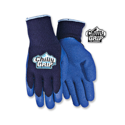 Chilly Grip Gloves - BLUE