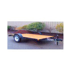 Olympic Flat Bed Trailer