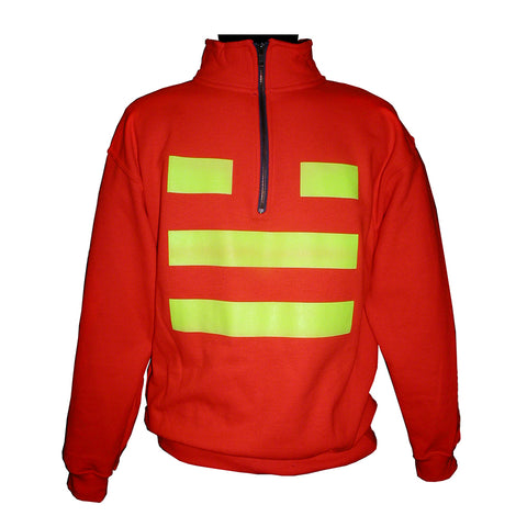 Safety 1/4 Zip Sweatshirt