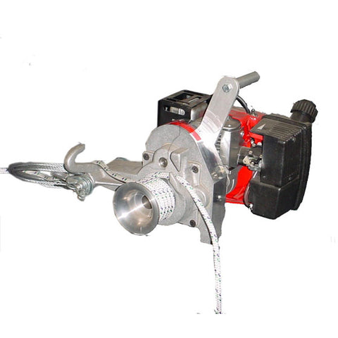 Simpson Capstan Winch With Engine