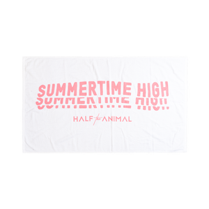 Summertime High Beach Towel