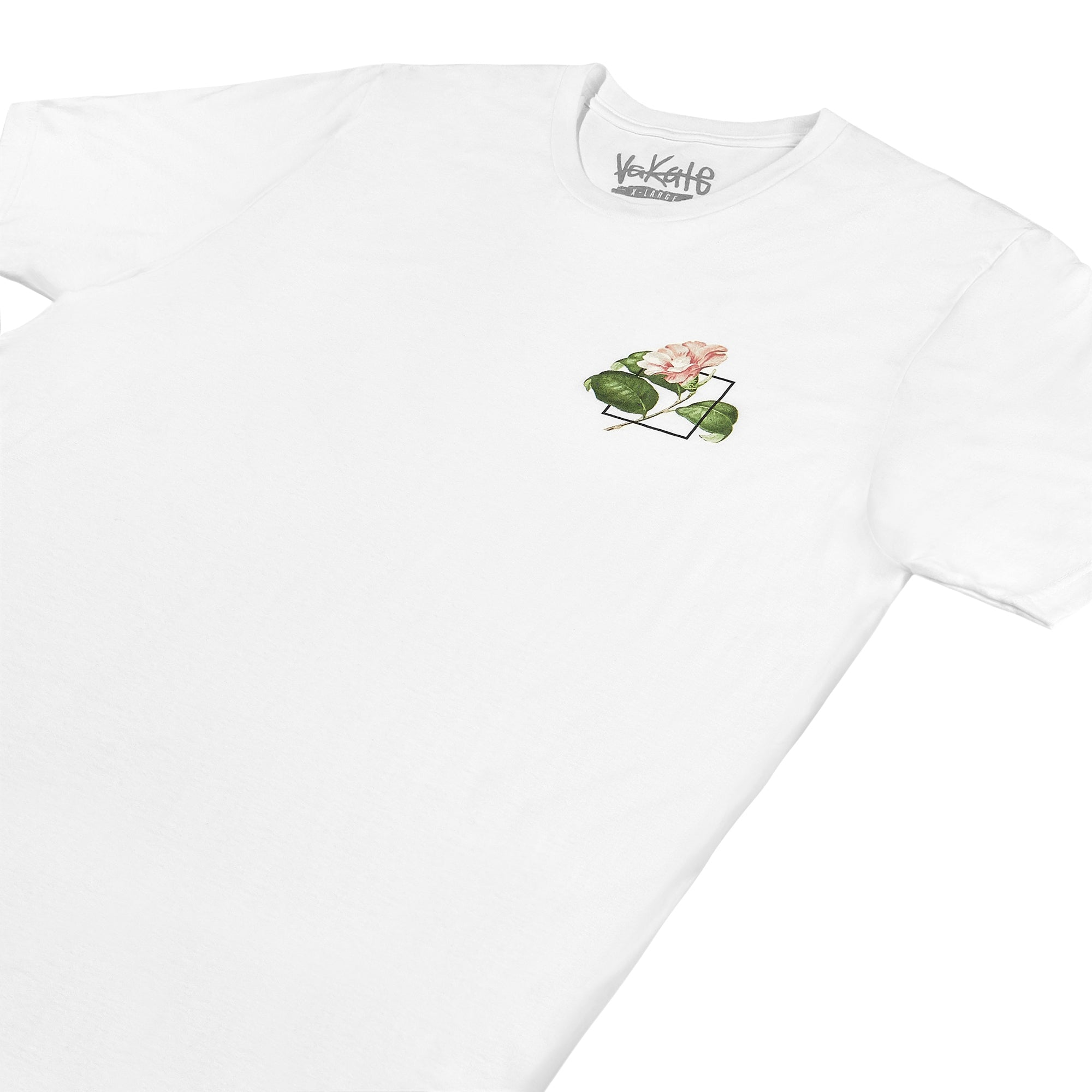 Flower Square T-shirt (White)