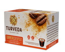 "Turmeric Coffee ""Focus Blend"" (Single Serve Recyclable Pods 12 ct.)"