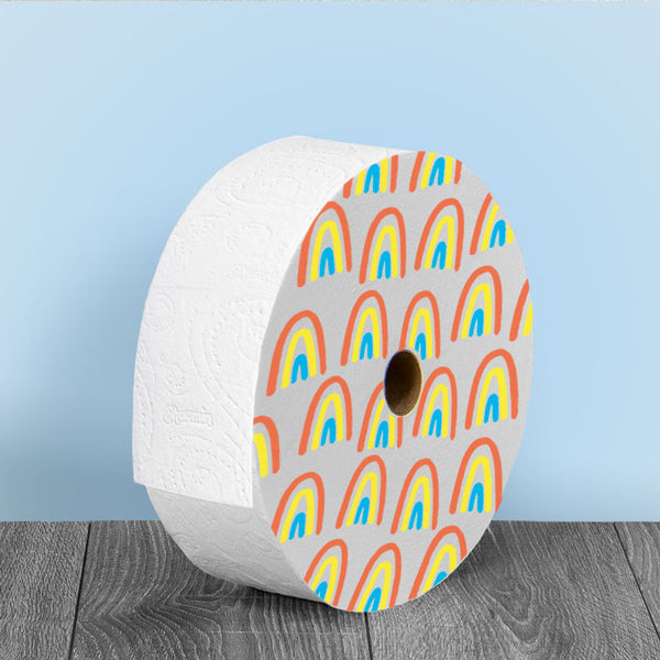 Freedom Roll with Rainbow Design for Multi-User Bathroom (12.5