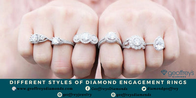 Different Styles Of Diamond Engagement Rings That You Know Before Purchasing
