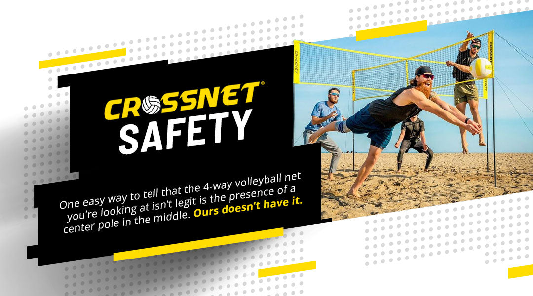 Volleyball Net Safety