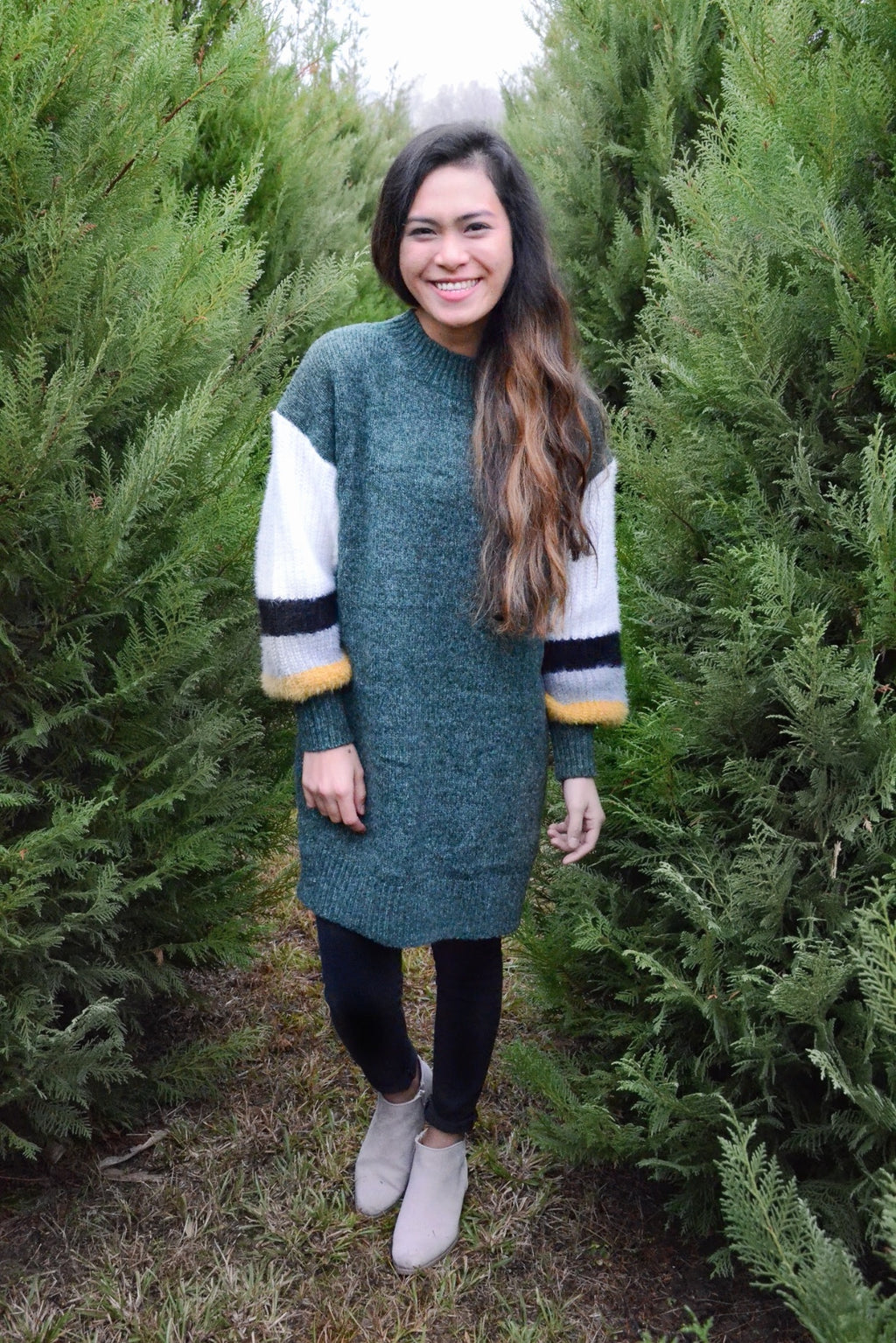 *FINAL SALE* The Carina Tunic Sweater