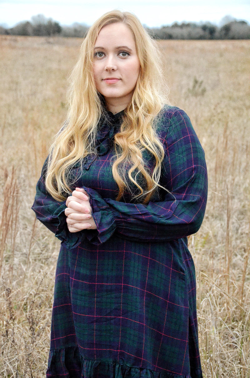 The Sophia Plaid Dress