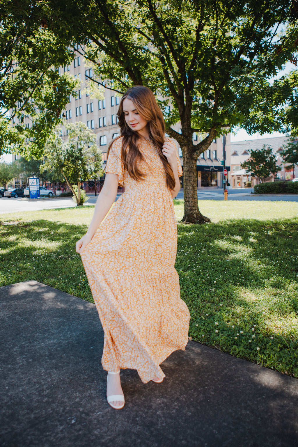Ain't No Sunshine Maxi Dress
