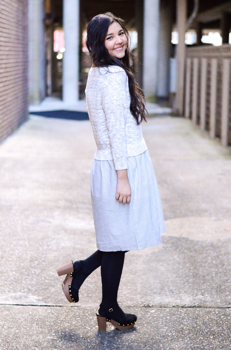 The Adele Sweater Dress