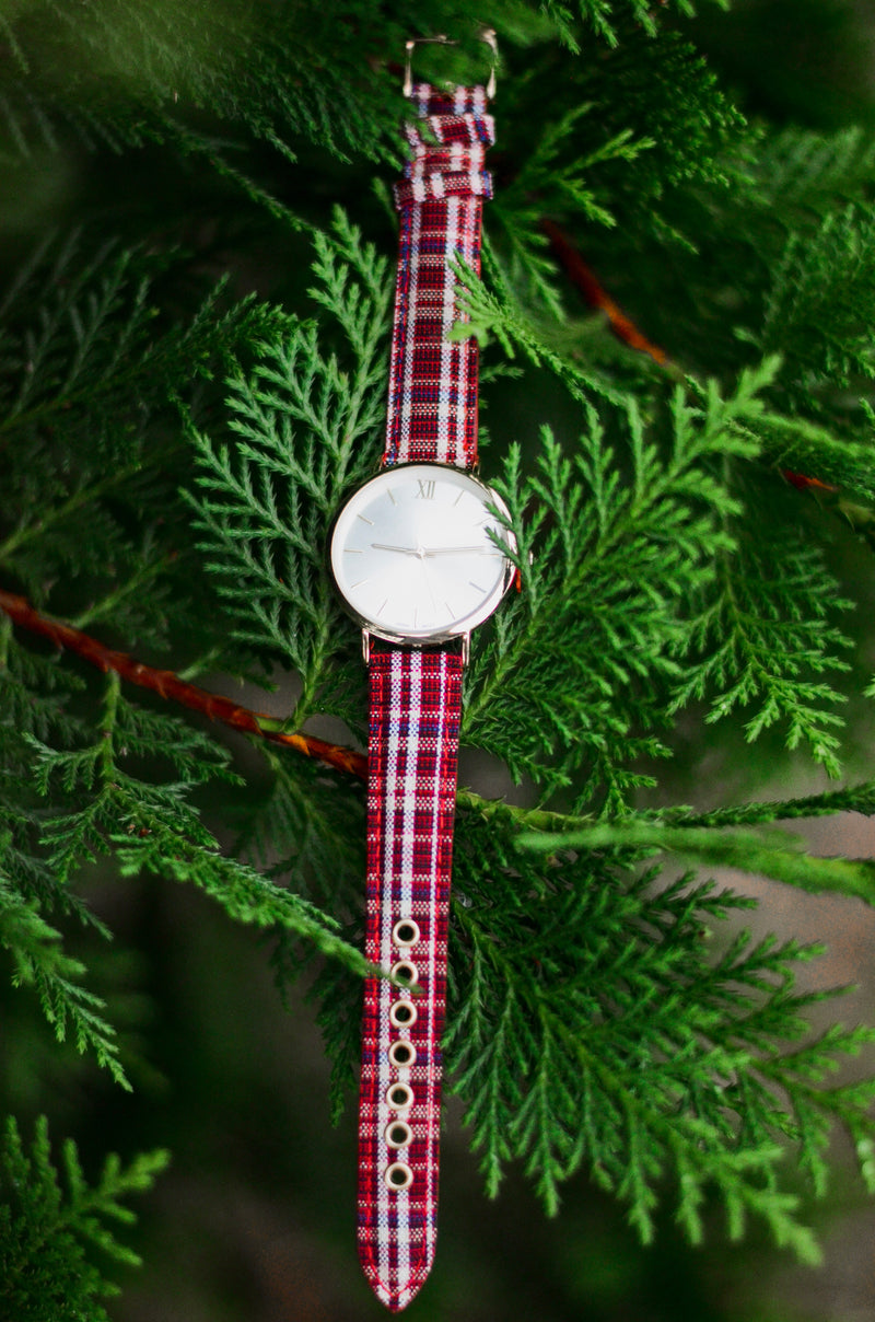 The Engel Plaid Watch