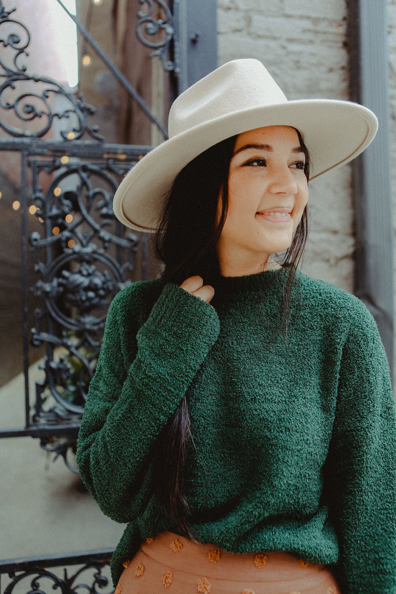 Cullen Sweater in Holiday Green