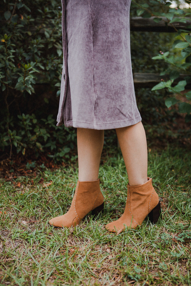 The Atticus Suede Mules