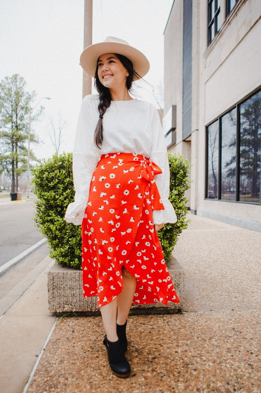 Roly Wrap Skirt