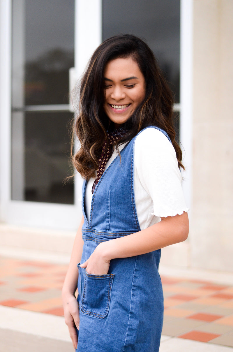 The Provost Denim Overalls