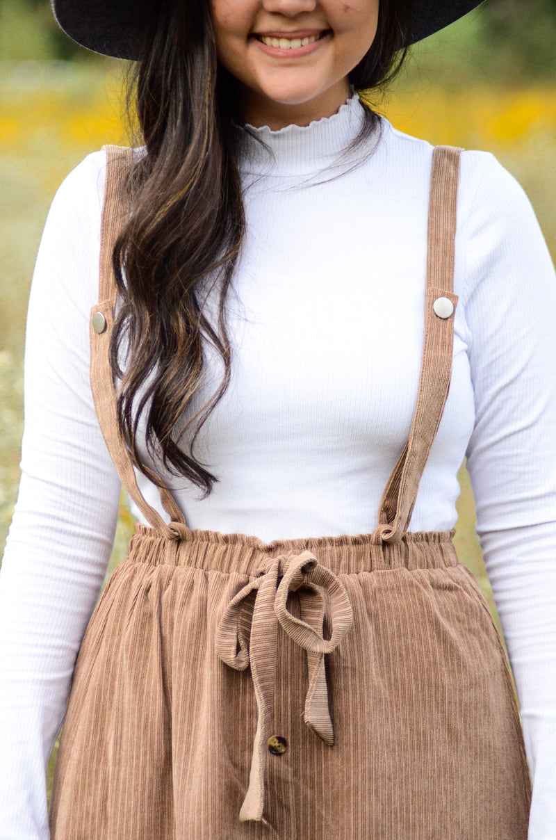 The Kylie Corduroy Overalls