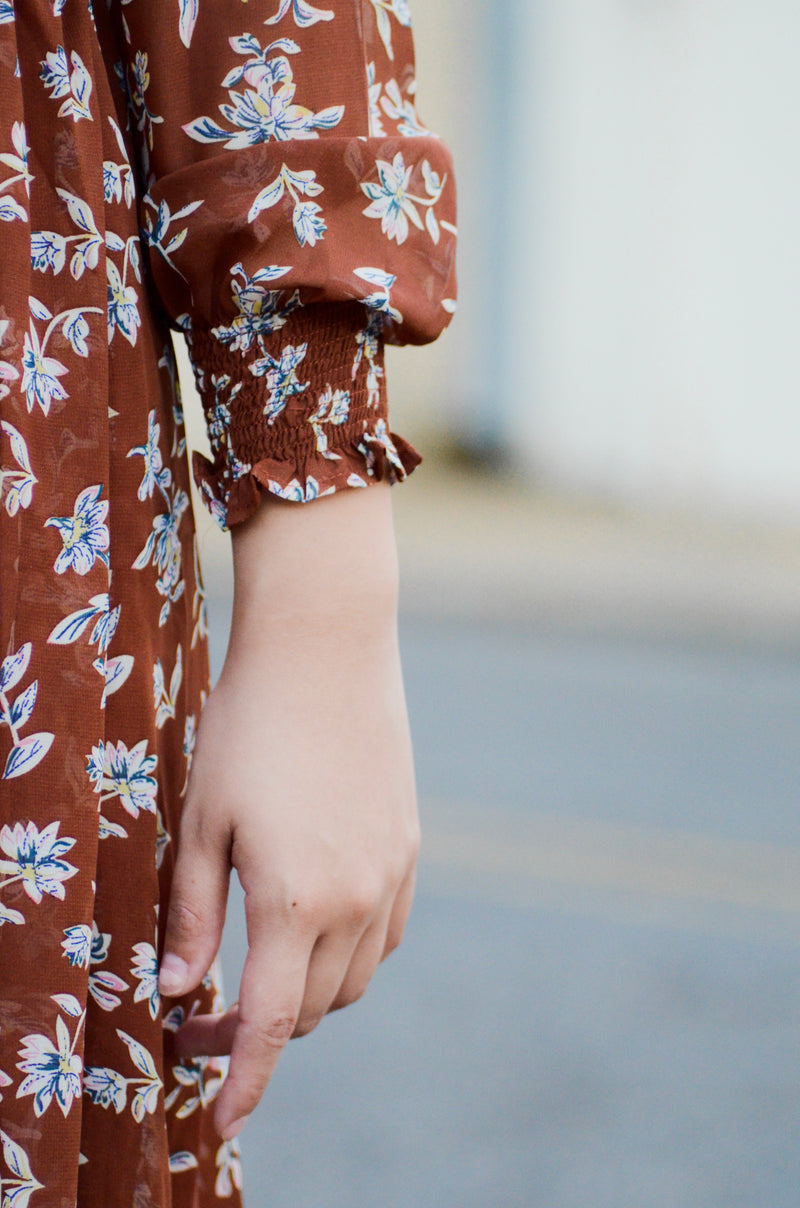 The Autumn Floral Dress