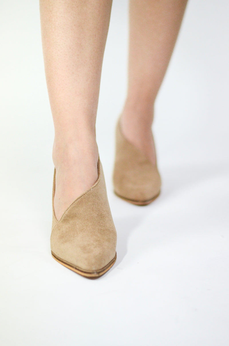 The Reyna Suede Clogs
