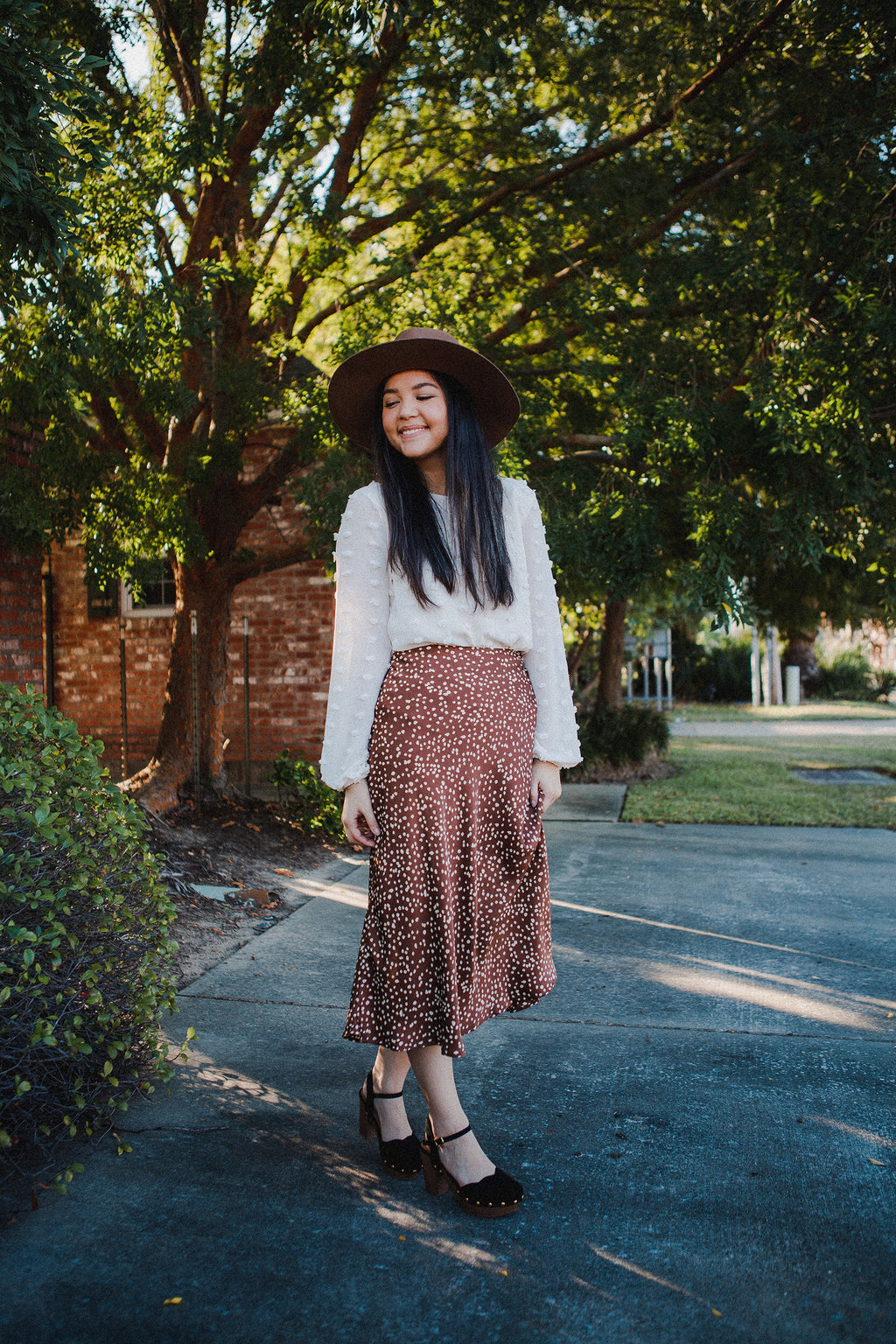 The Toni Polka Dot Skirt