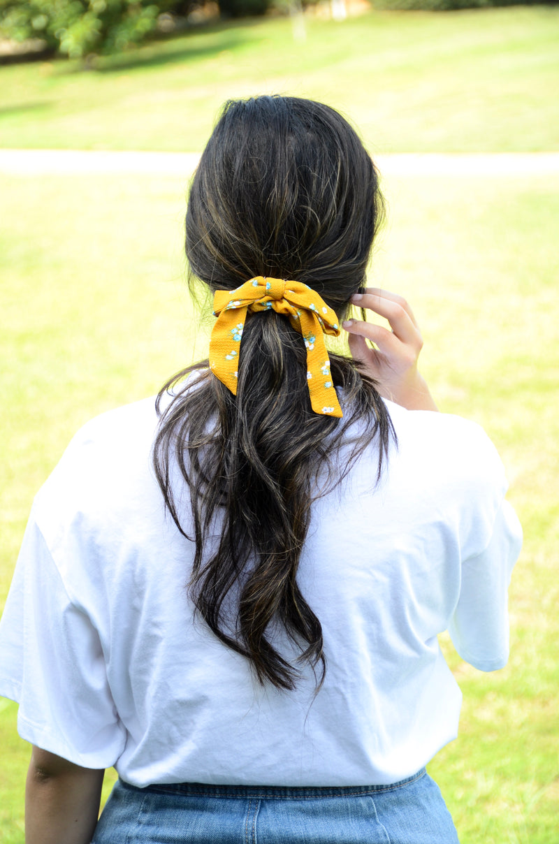 The Margaret Floral Hair Bow