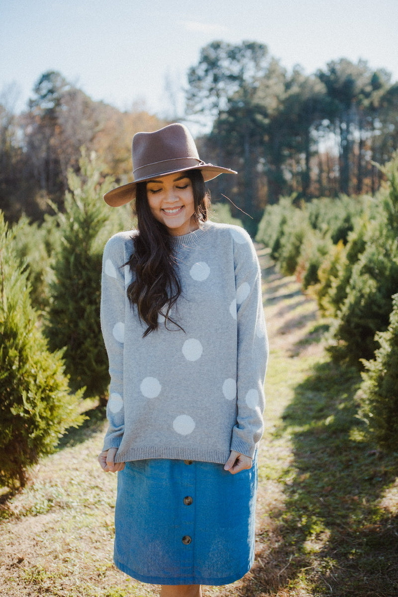 Kali Polka Dot Sweater