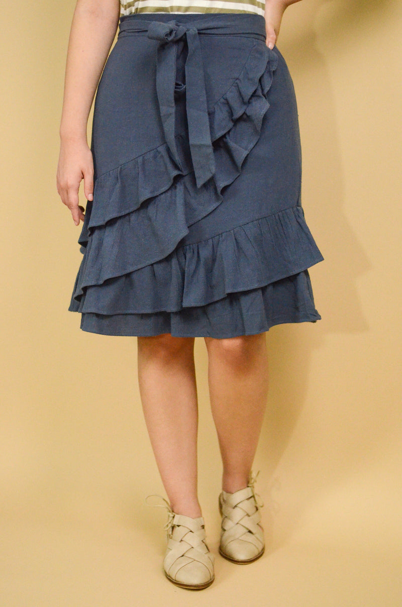 The Good Day Denim Skirt