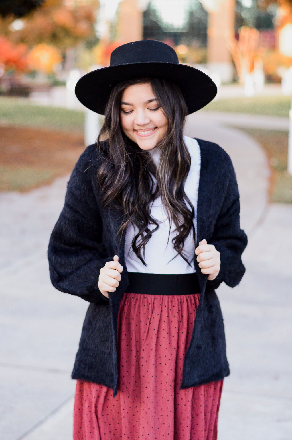 The Rosita Fuzzy Cardigan