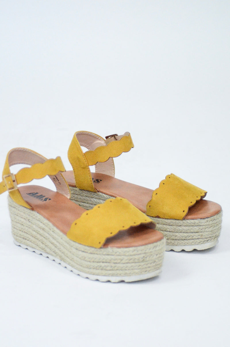 So Cali Platform Wedges