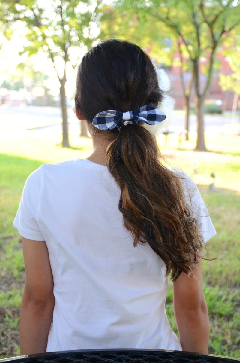 Crushing On You Gingham Bow