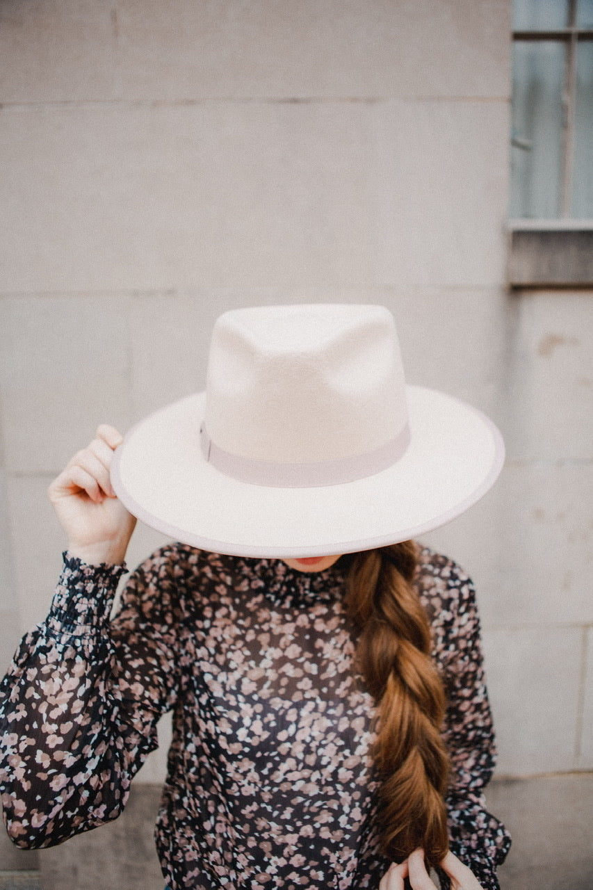 Alana Rancher Hat in Blush