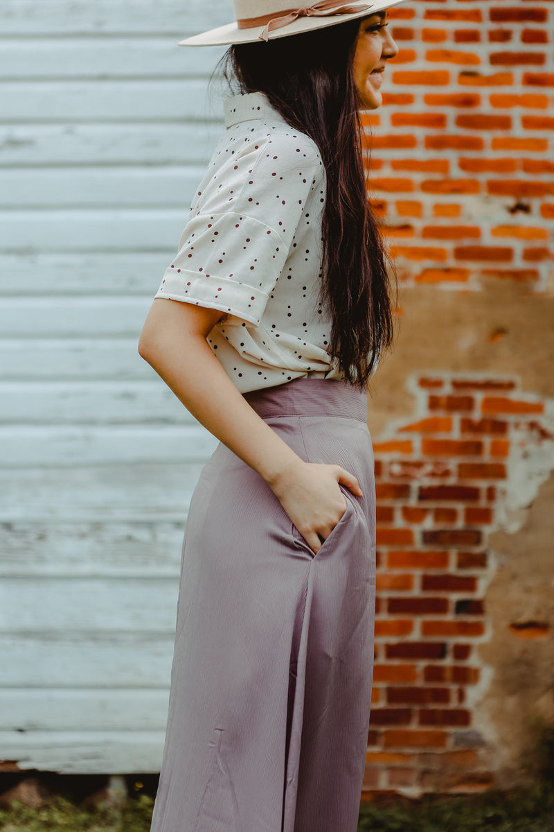 Winnipeg Skirt in Mauve