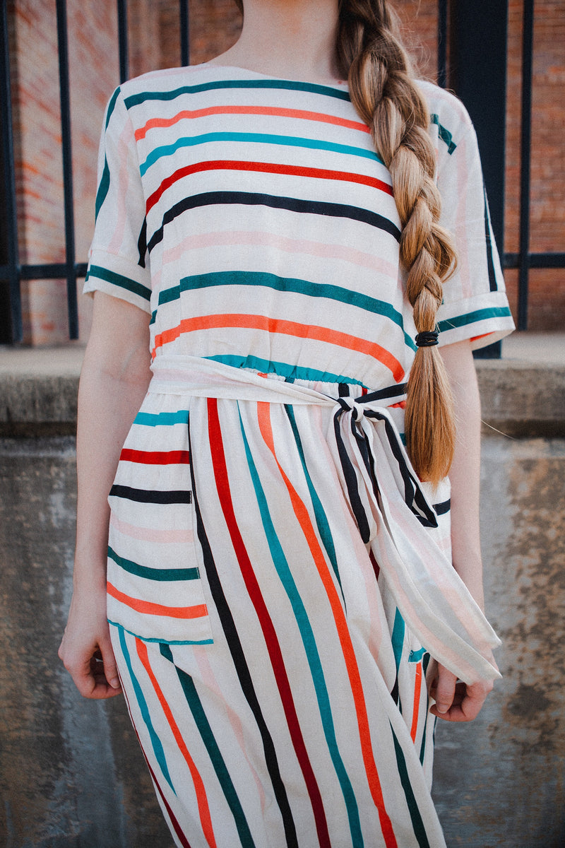 Villanueva Striped Dress