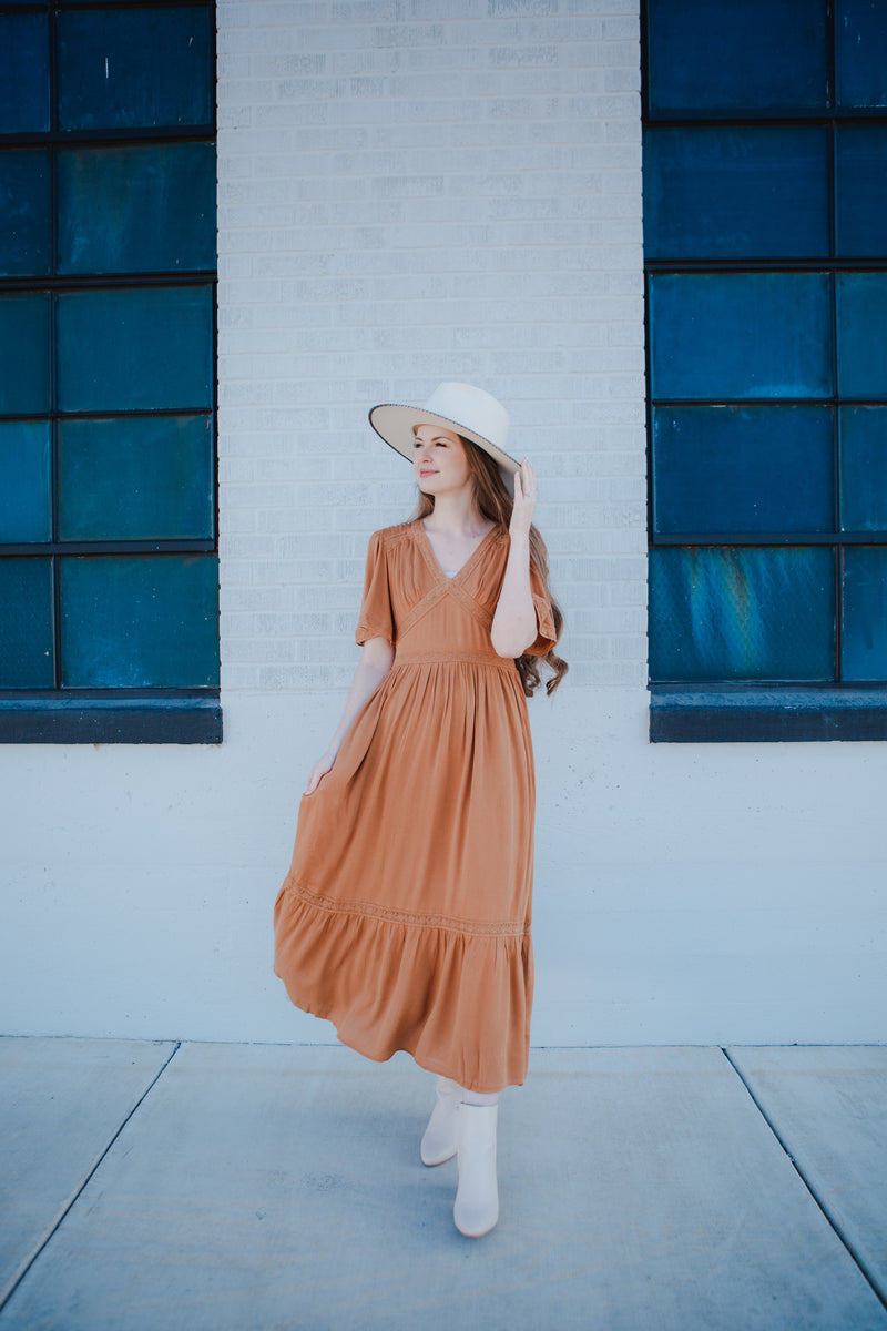 Paola Corduroy Dress
