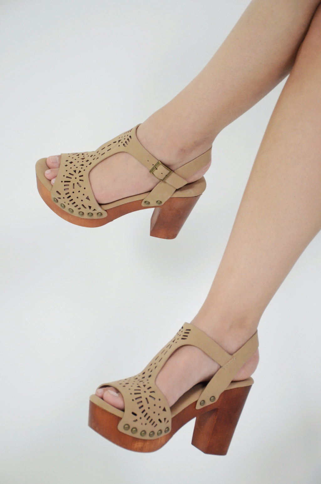 *FINAL SALE* The Santa Monica Block Heels