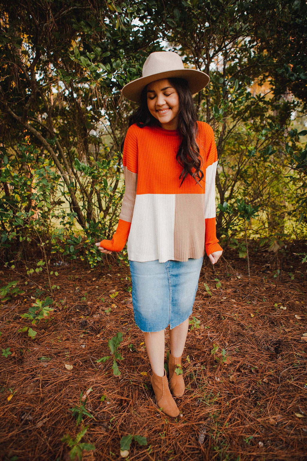 Portico Color Block Sweater