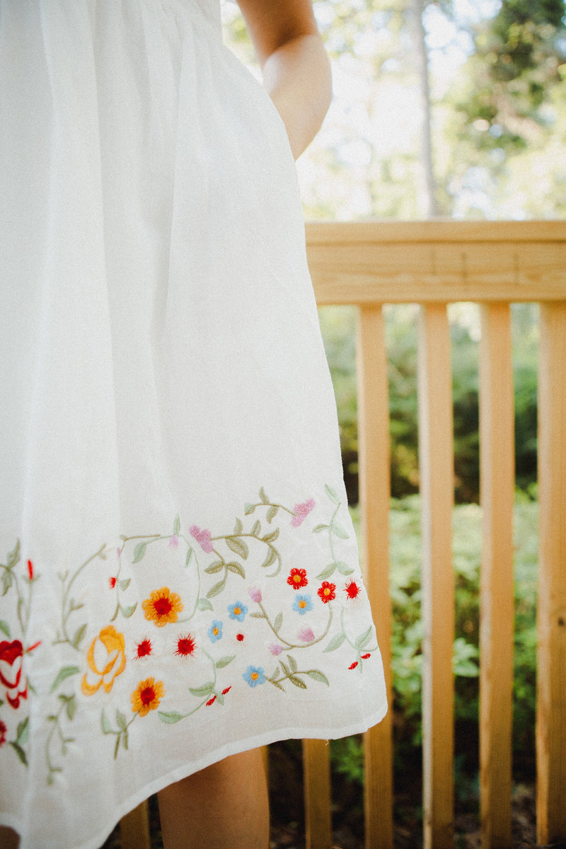 The Lydia Embroidered Dress