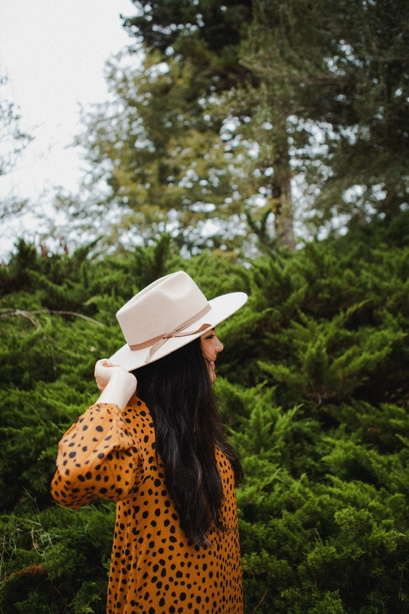 Lilian Rancher Hat in Light Oatmeal