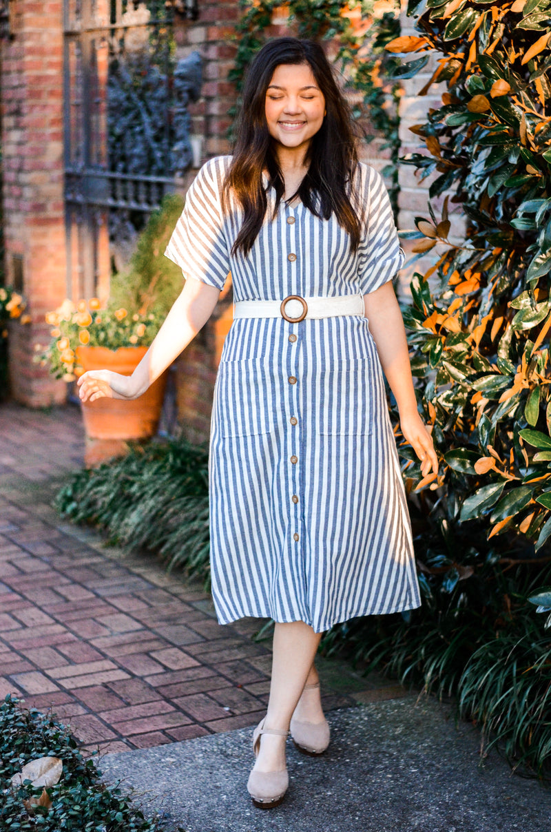 The Innisfree Striped Dress