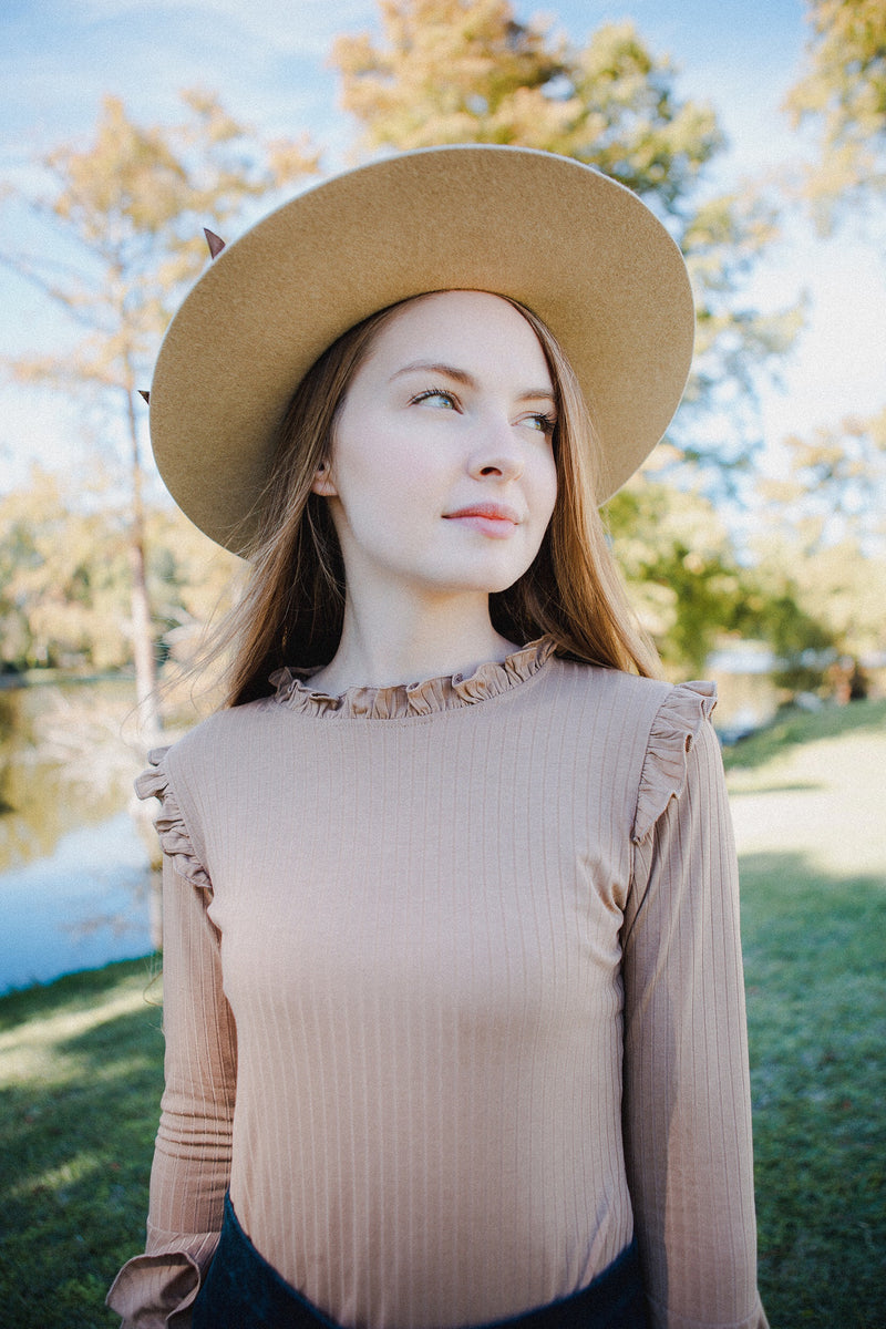 The Stella Eyelet Sleeve Blouse