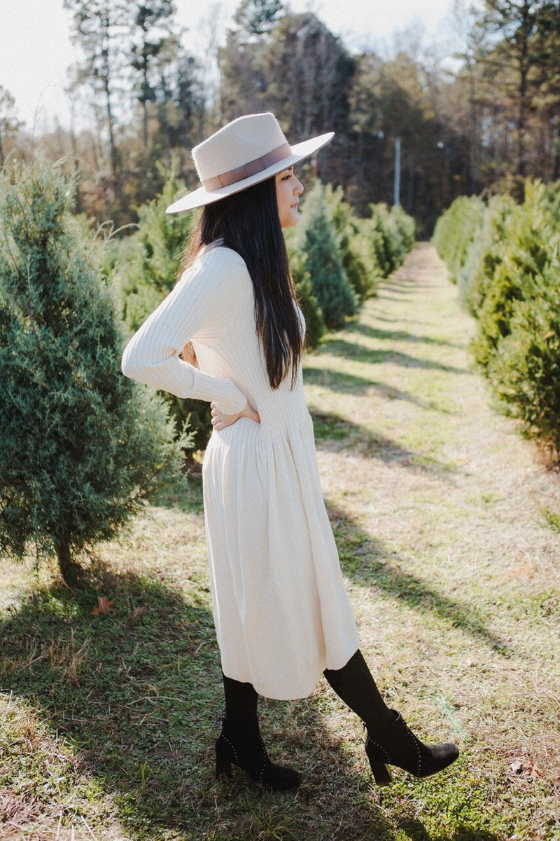 Timberland Sweater Dress in Ivory